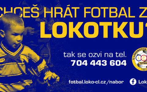 NÁBORY POKRAČUJÍ! Lokomotiva hledá mladé fotbalisty a fotbalistky